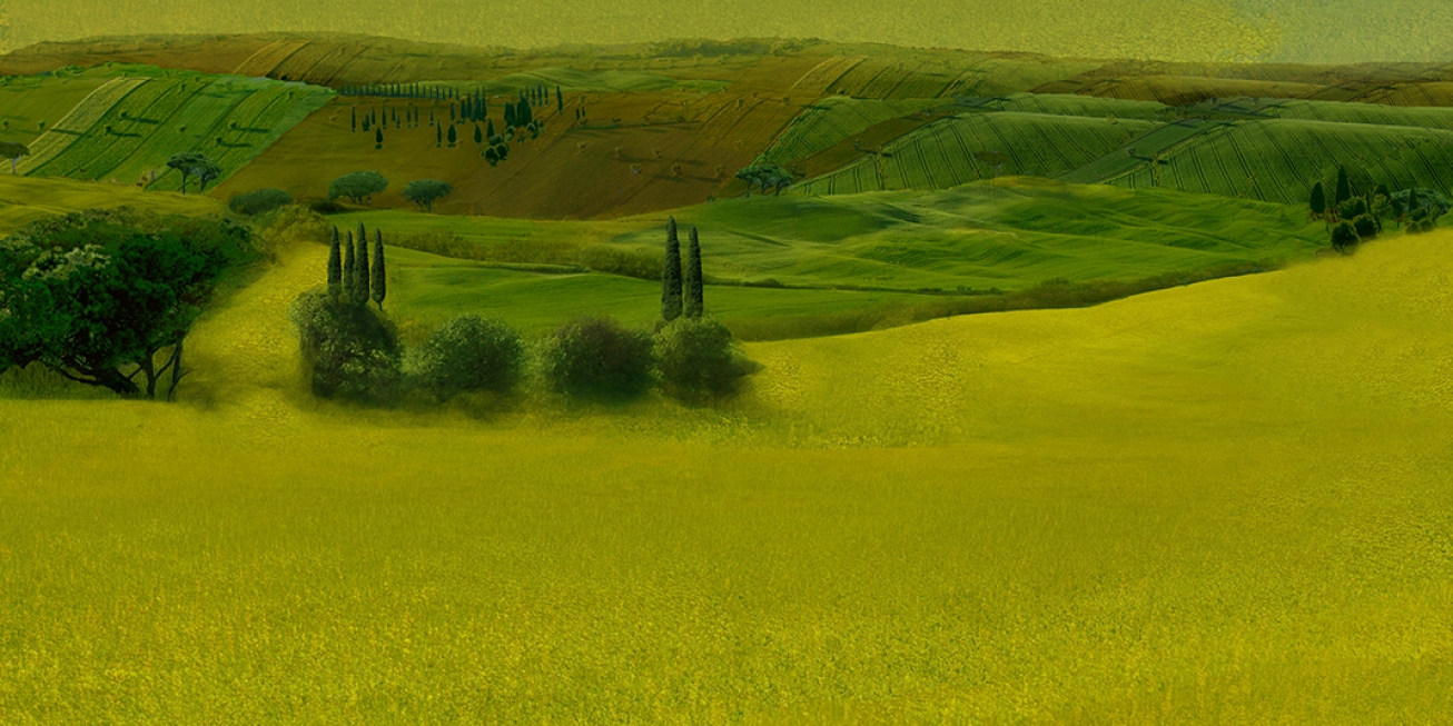 Tuscany  5 .    137 cm x 102 cm .      From 300 € .